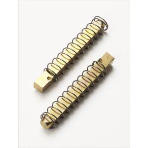 Split spindle for locking mechanisms