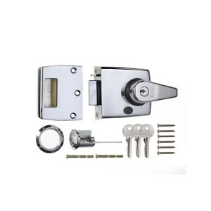 Double locking night latch
