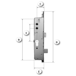 HOW TO MEASURE A LOCKCASE/GEARBOX